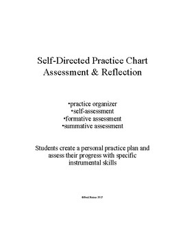 Self-Directed Practice Organizer & Assessment