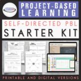 Self-Directed Project-Based Learning Starter Kit {Printabl