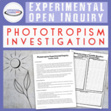 Self-Directed Scientific Inquiry: Phototropism {Google Cla
