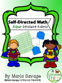 Self-Directed Student Superhero Math Rubric