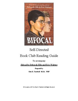 Self-Directed Reading Guide for Bifocal by Deborah Ellis and Eric Walters