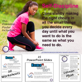 Self Discipline Lesson and PowerPoint