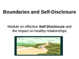 Self-Disclosure, Boundaries and the Johari Window for effe