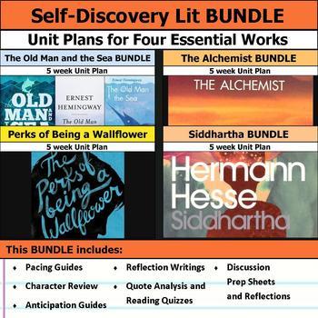 Self Discovery Literature Unit Bundle