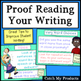 Editing and Proofreading Worksheet and PowerPoint