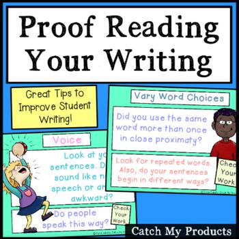 Writing Process : Self Editing Tips (handout on editing yo