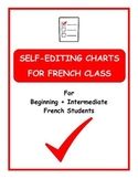 Self-Editing Charts for French Class