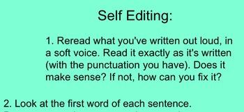 Self-Editing Helps