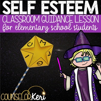 Self Esteem Activity Classroom Guidance Lesson for Elementary School Counseling