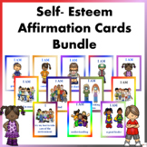Self- Esteem Affirmation Cards Bundle