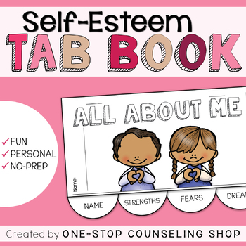 """Self-Esteem """"All About Me"""" Tab Book"""
