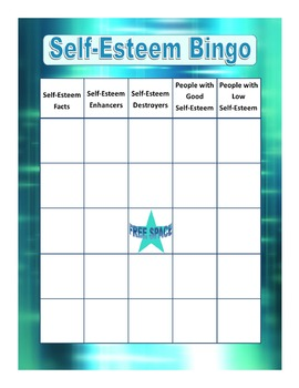 Self-Esteem Bingo