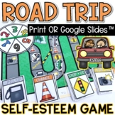 Self-Esteem Board Game Printable and Distance Learning