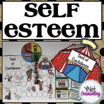 Self-Esteem Board Game: Tent of Confidence