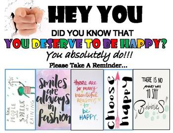 Self Esteem Building - Be Happy