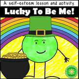 Self-Esteem Building Shamrock Lesson