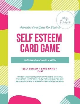 Self Esteem Card Game- Interactive