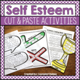 Self Esteem Cut And Paste Activities
