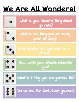 Self-Esteem Dice Game