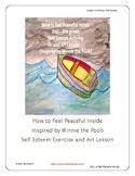 Self Esteem Education I Feel Peaceful Inside Discussion Art Lesson Exercise