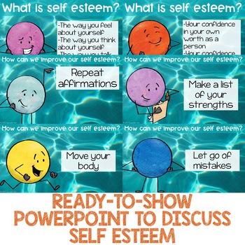 Self Esteem Centers: Self Esteem Classroom Guidance Lesson