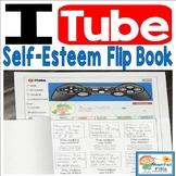 Self Esteem Flip Book Craft and Worksheets