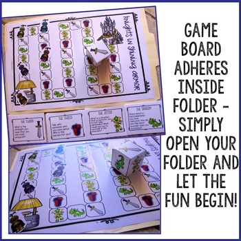 Self Esteem File Folder Game Counseling Game for Elementary School Counseling