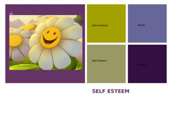 Self Esteem Lesson Activity