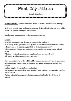 Self Esteem Lesson Plans using Mentor Texts