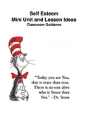 Self Esteem Mini Unit and Lesson Ideas