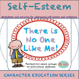 Self-Esteem Packet with Worksheets and Activities- Perfect