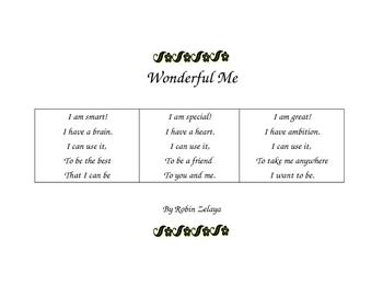 Self Esteem Poem