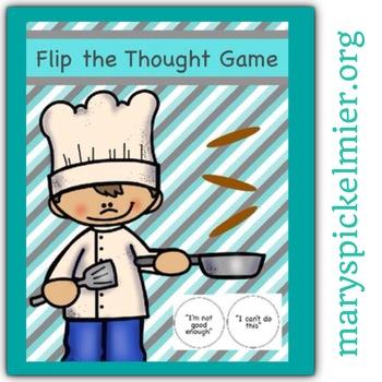 Self Esteem & Positive Self Talk Game: Flip the Thought