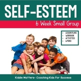 Self Esteem Building Small Group Counseling Lesson Plans and Workbook