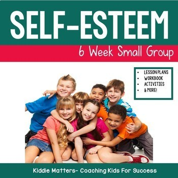 Self Esteem Building Small Group Counseling Lesson Plans a