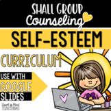 Self Esteem Small Group Counseling Curriculum for distance