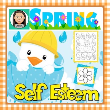 Self Esteem: Spring Worksheets & Activities