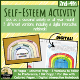 Self Esteem Activity: Paper or Digital Flip-Book