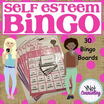 Self-Esteem: Who I Am Self-Esteem Bingo