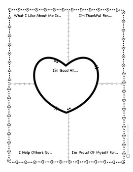 photo about Printable Self Esteem Worksheets named Self Esteem Worksheets Minibook