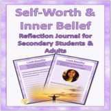 Self Esteem Worksheets with Reflection Journal and Writing