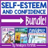 Self-Esteem and Confidence BUNDLE:  All Self-Esteem Activities