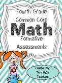Self-Evaluated Formative Math Assessments