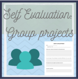 Student Self Evaluation for Group Work