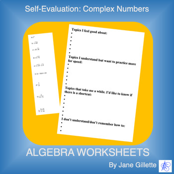 Self-Evaluation: Complex Numbers