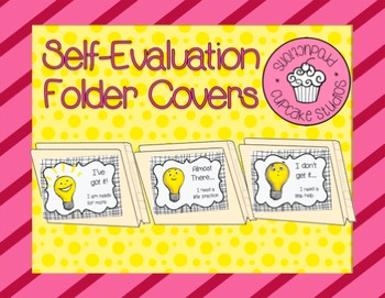 Student Self-Evaluation Folder Covers