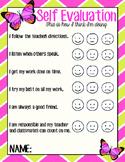 Self Evaluation Form