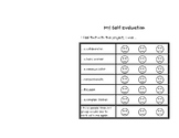 Self Evaluation Rubric for Group Projects