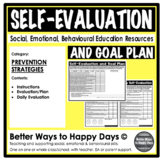 SELF-EVALUATION AND GOAL PLAN - Prevention Strategies