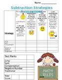 Self-Evaluation for Subtraction Strategies